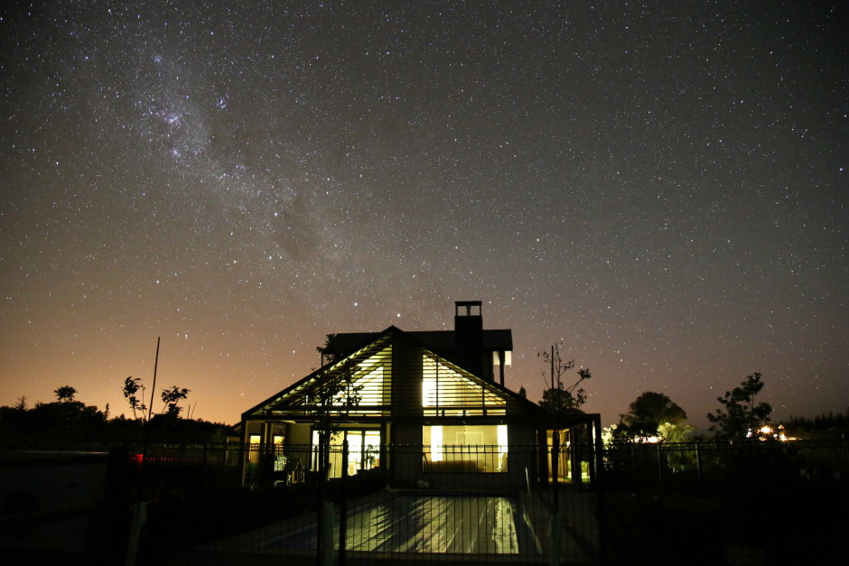 Star Gazing at Pine Hill Lodge